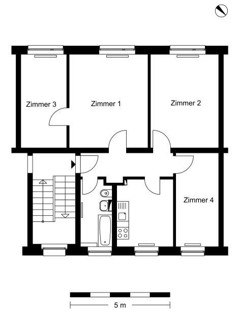4 Zimmer Wohnung Schwanebecker Chaussee 30 13125 Berlin Howoge