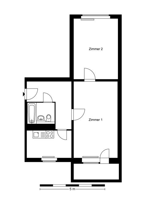 2 Zimmer Wohnung Gehrenseestr 77 13053 Berlin Howoge